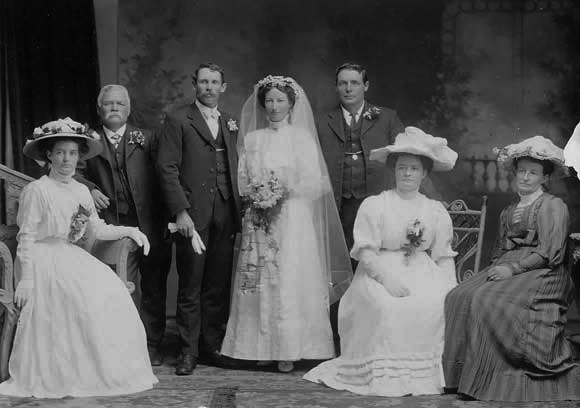wedding of alfred and alice