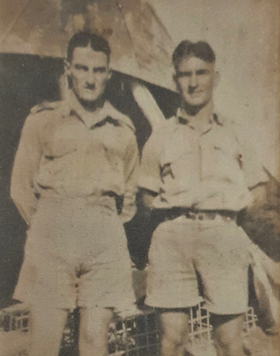 clarrie & ron 1941