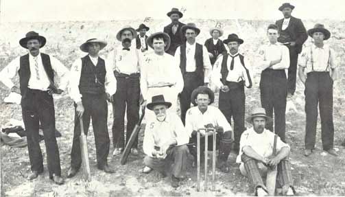 lalbert cricket team 1900