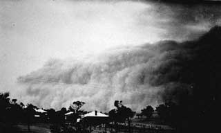 mallee dust storm
