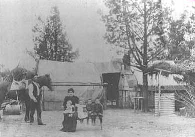 camp at swan hill